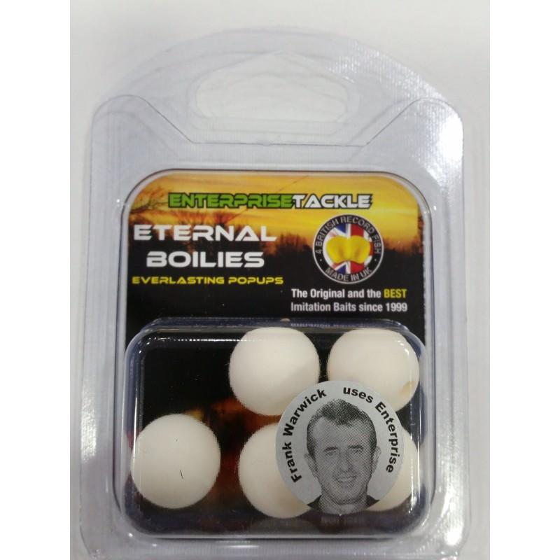 Enterprise Eternal Boilies 15mm Blancos flotante(5 unid)