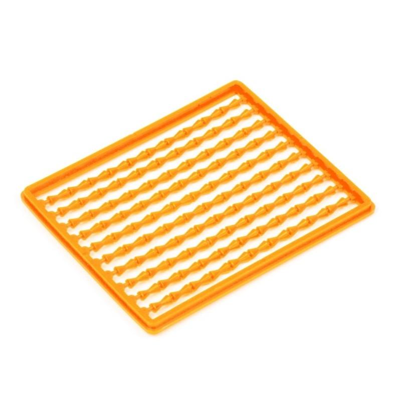 X2 Topes de Boilies Naranjas