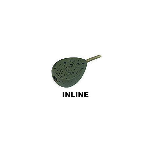 NGT Plomo Pera Plano Inline 85gr verde