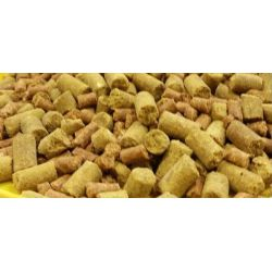Carpones Pellet 5 mm Banana 1kg