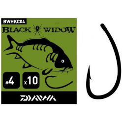 DAIWA Carp Hook Black Widow Type C - Nº4
