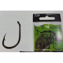 DAIWA Carp Hook Black Widow Type A- Nº6