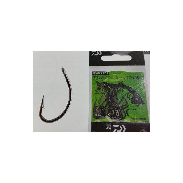 DAIWA Carp Hook Black Widow Type B- Nº2
