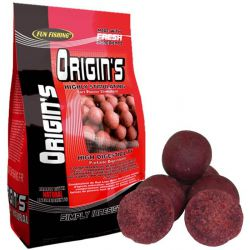 Fun Fishing boilies origins 15mm 1kg (Robin Red & Higado)