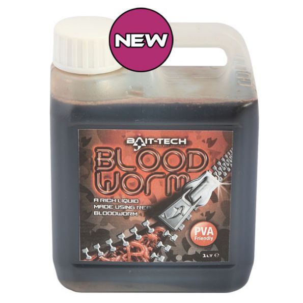 Baitech Bloodworm Liquid 1 Litro