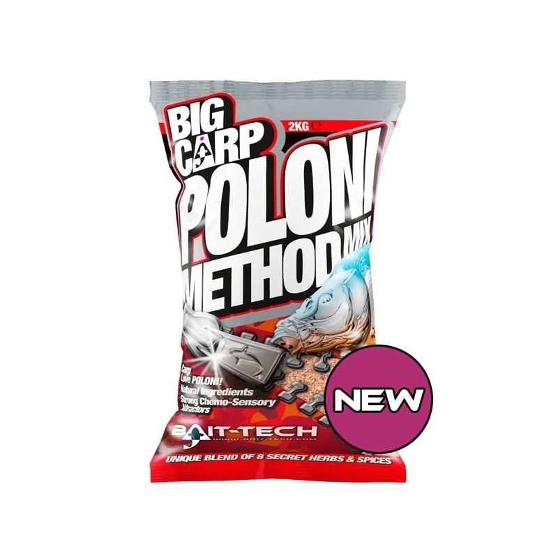 Bait-Tech Engodo 2kg Big Carp Method Mix Poloni