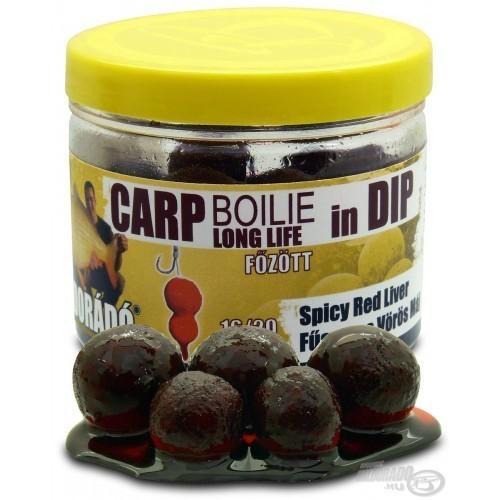Haldorado Boilies 16-20mm Spice Red Liver en Remojo 100gr