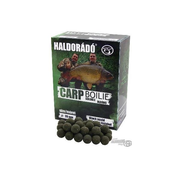 Haldorado Boilies Solubles 20mm 800gr BLACK SQUID (Calamar)
