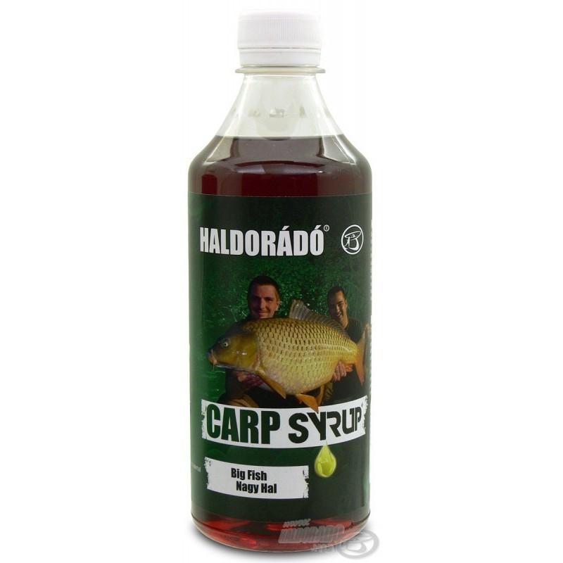 Haldorado Sirope BIG FISH 500ml (ROJO) pescado y dulce