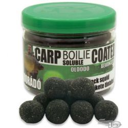 Haldorado Boilie Soluble Recubierto BLACK SQUID 18mm 70gr