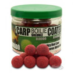 Haldorado Boilie Soluble Recubierto spicy Red Liver 18mm