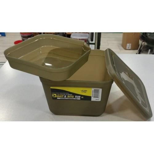 Avid Carp Bait and Bits con division XL 15,5x15,5x10 cm