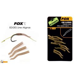 Fox Line Alignas Khaki Para anzuelos del 6 al 2 10unid
