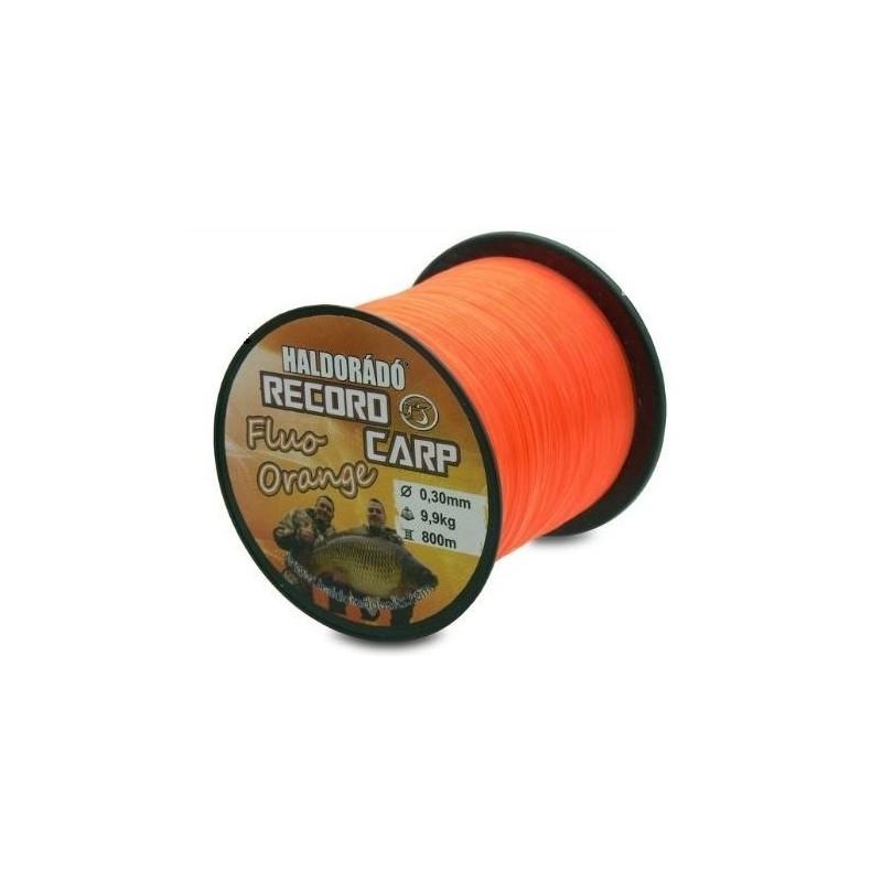 Haldorado Nylon Record Carp 0.35mm 12,75kg 750mt Fluo orange