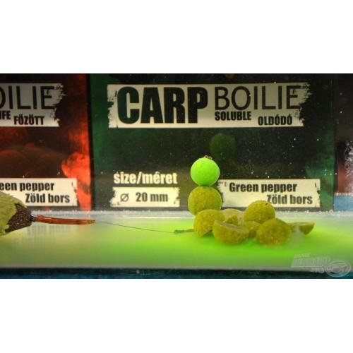 Haldorado Boilies Solubles 20mm 800gr Green Pepper (Pimienta verde)