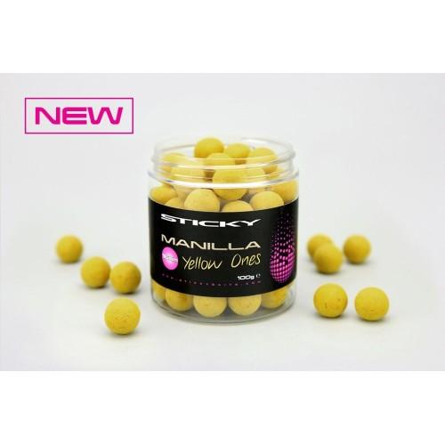 Sticky baits Flotantes Manilla Yellow Ones 16mm