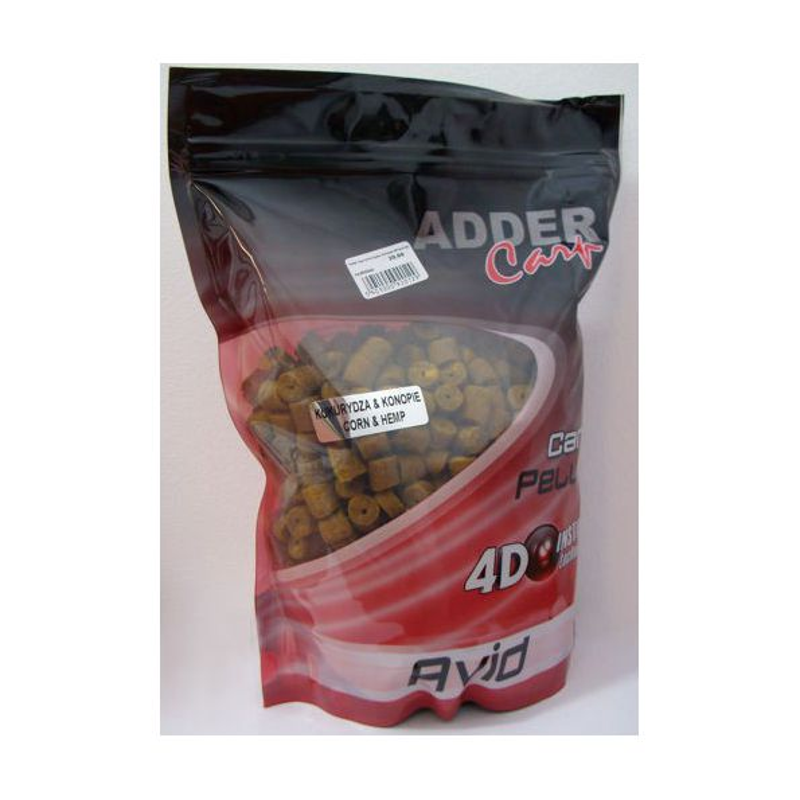 Adder Carp Pellet 12mm Taladrados Maiz Cañamon