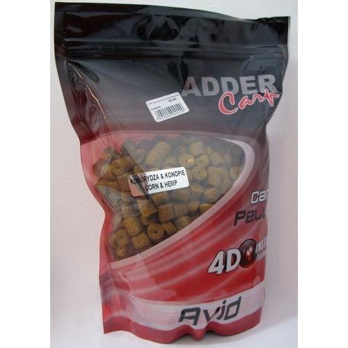 Adder Carp Pellet 20mm Taladrados Maiz Cañamon