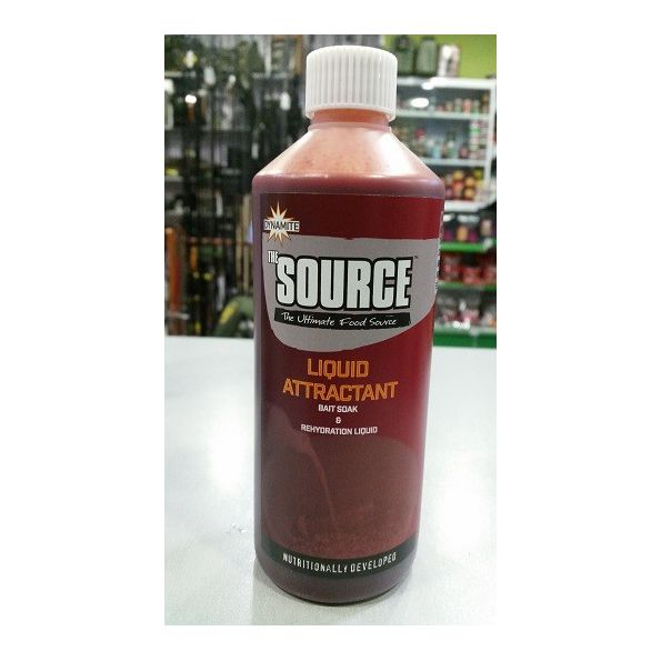 DYNAMITE SOURCE LIQUID ATTRACTANT BAIT SOAK 500 ML