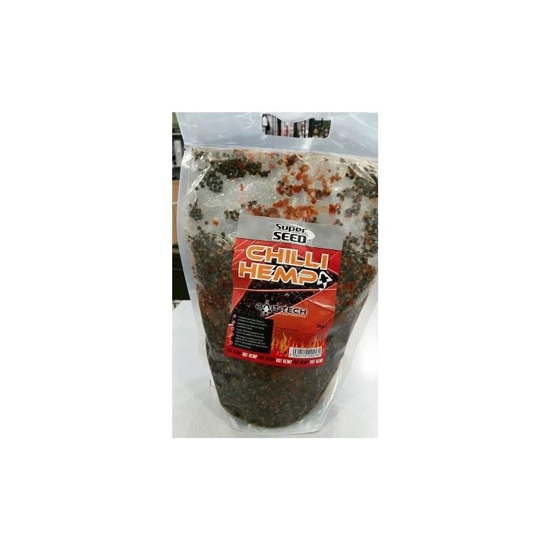 Baitech Chilli Hemp oil 2kg (Cañamon chilli)