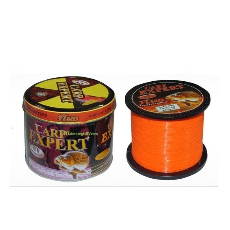 Carp Expert Nylon Fluo Naranja 0.35mm/1000m 14.90kg