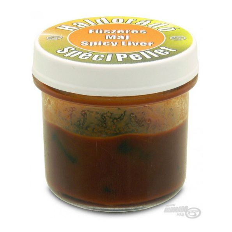 Haldorado Speci pellet Flotante Spicy Liver 8 unid (Higado)