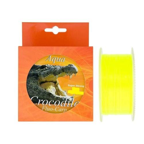 Aqua Crocodile Fluo-Carp 600m 0.35mm 20kg Super strong