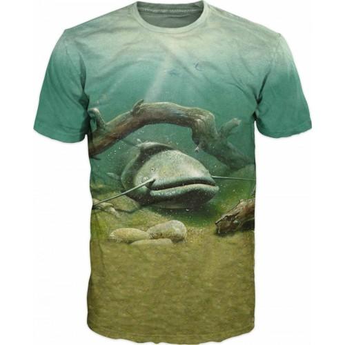 Carp T-shirt Camiseta Siluro Arbol