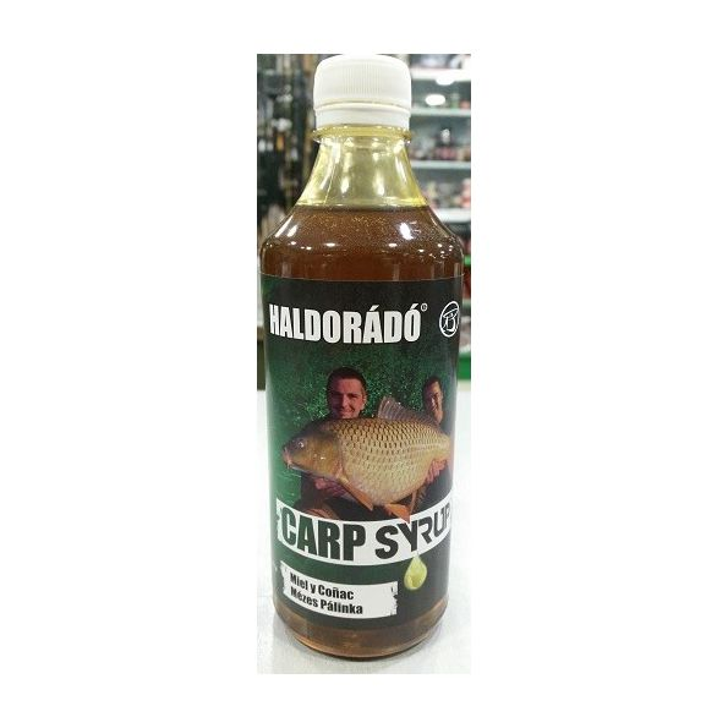 Haldorado Sirope M-Palinka 500ml (Miel y coñac)