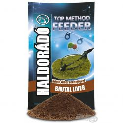 HALDORÁDÓ TOP Method Feeder 1kg - Brutal Liver (Higado)