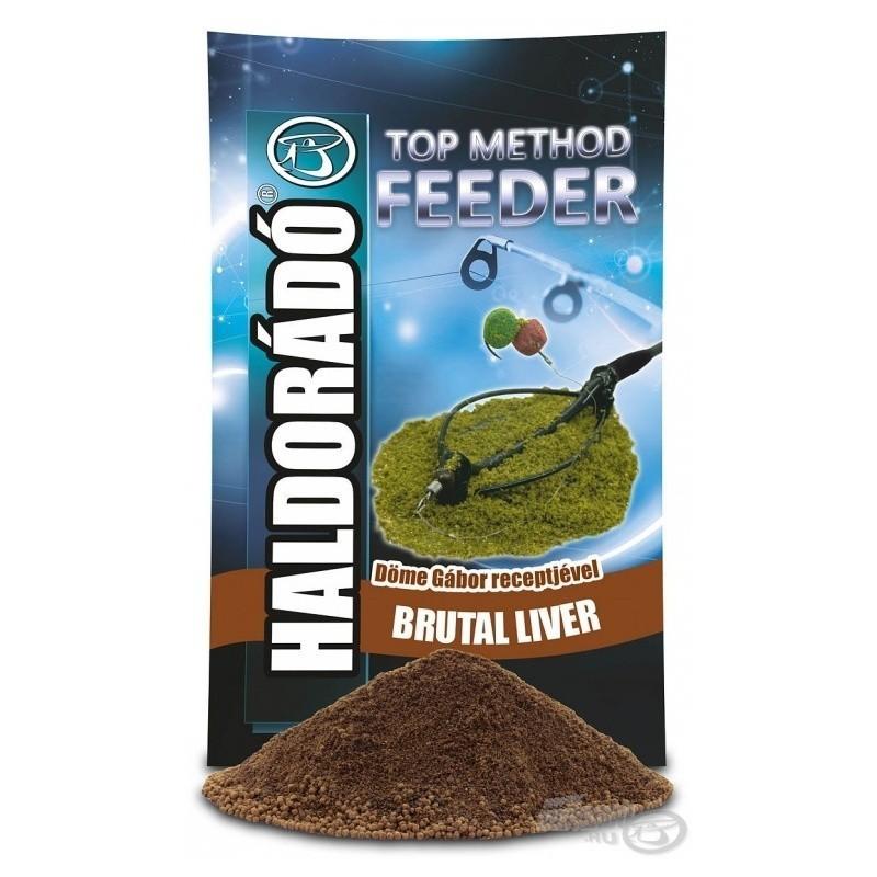 HALDORÁDÓ TOP Method Feeder 1kg - Brutal Liver (Higado)