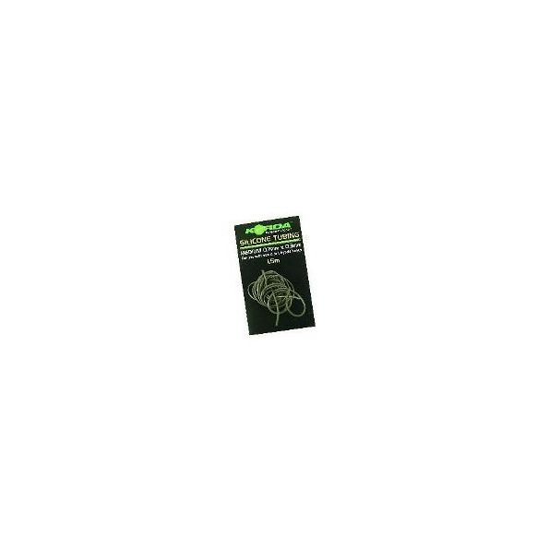 Korda Tubo silicona Verde alga 0.7mm (Silicone Tube Green)