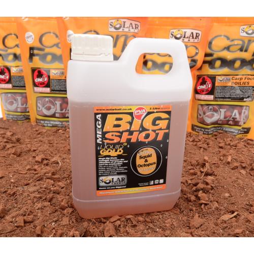 Solar Bait Booster Carp Food Mega Big Shot Candy Floss 1L