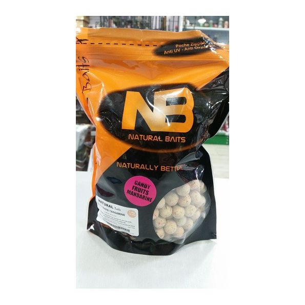 Natural Baits Boilies 15mm Mandarina 1kg