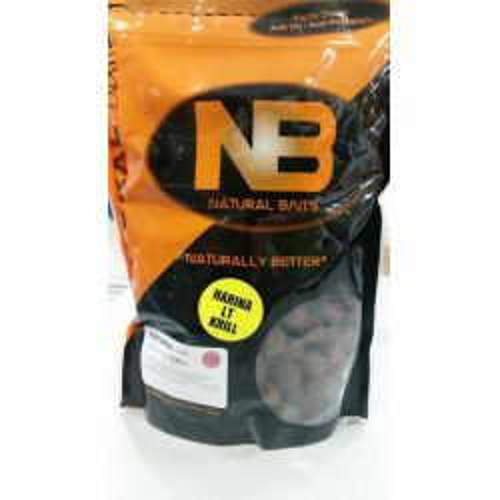 Natural Baits Boilies 15mm LT Krill 1kg