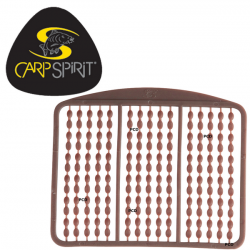 Carp Spirit Topes Boilies Marron 180 unid