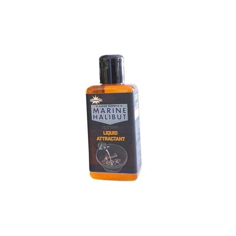 Dynamite Baits Remojo Marine Halibut Salt 250ml (nuevo)