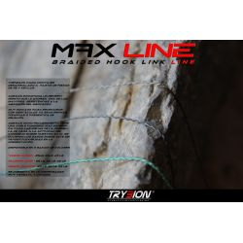 TRYBION MAX LINE trenzado anti-abrasion 25Lb 20 m Verde