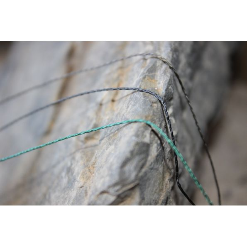 TRYBION MAX LINE trenzado anti-abrasion 25Lb 20 m Marron