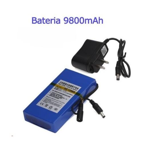 Bateria recargable litio 12V/ 9.8A / 117,60wh (Valido para todas las sondas)