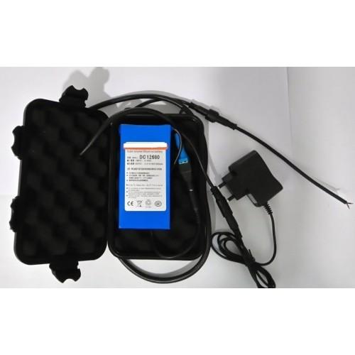 Pack bateria Litio XL 12V 12AH + caja estanca XL (Valida para Sondas lowrance,hunminbird etc..)