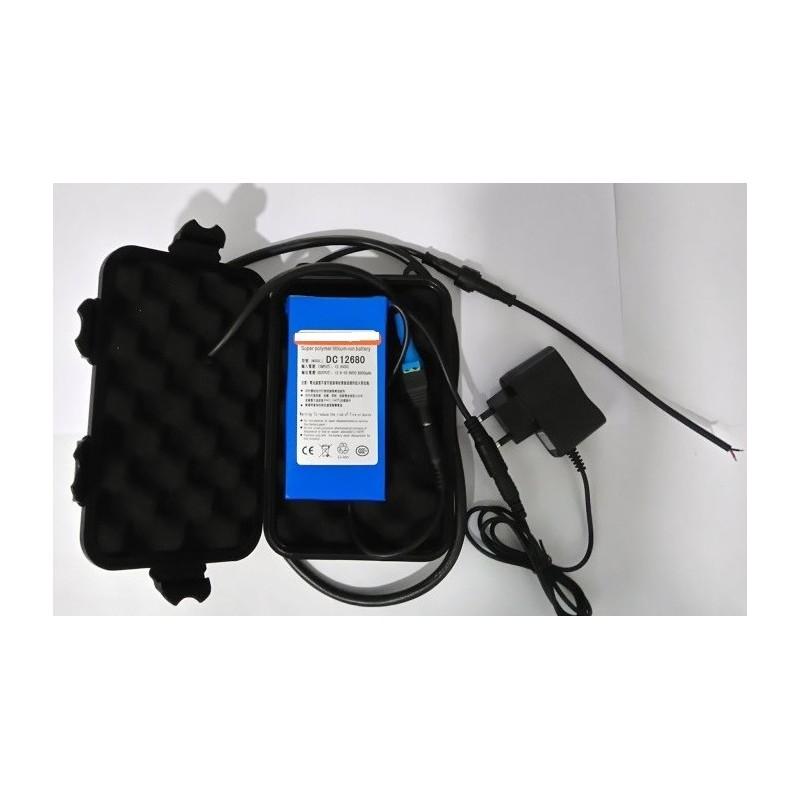 Pack bateria Litio XL + caja estanca XL (Valida para Sondas lowrance,hunminbird etc..)