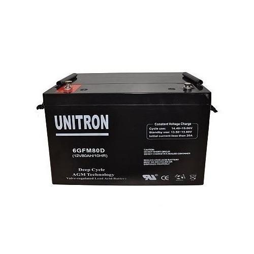Batería AGM Unitron 12V 110 Amp.