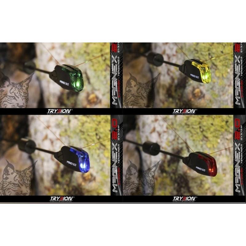 Trybion Maletin de 4 Tensores MAGNEX Iluminados (Azul,Verde,Rojo,Amarillo)