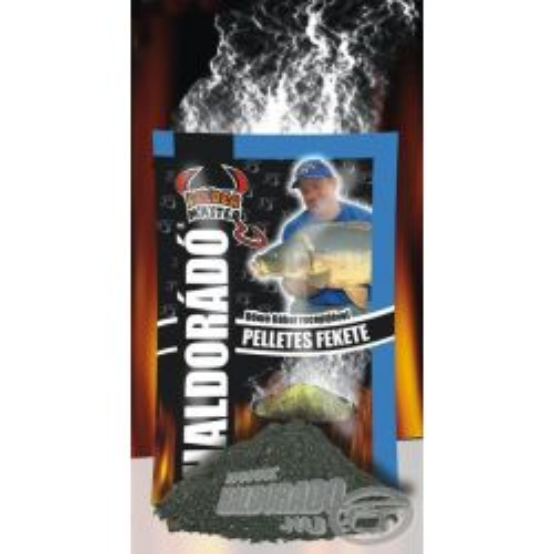 Haldorado Engodo 1KG Pellets Fekete (Pescado )