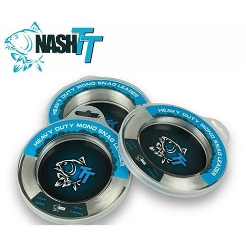 Nash Shock Leader Heavy Duty Mono Snag 0.60mm 100m