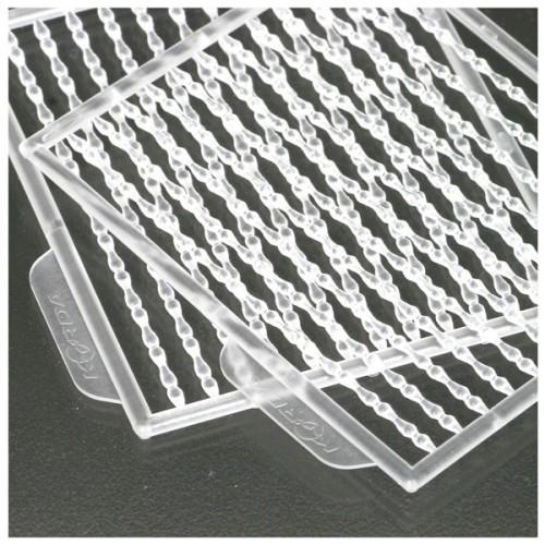 Korda Topes para boilies Transparente (Hybrid bait hair stop)