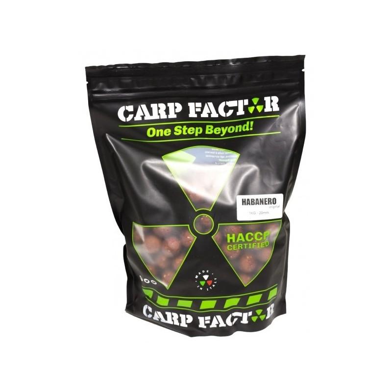 Carp Factor 20mm Habanero 1Kg (Ajo,Chilli,Asafoetida)