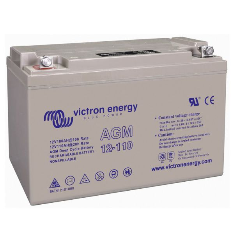 Victron Energy Bateria 110A/h - 12V AGM -