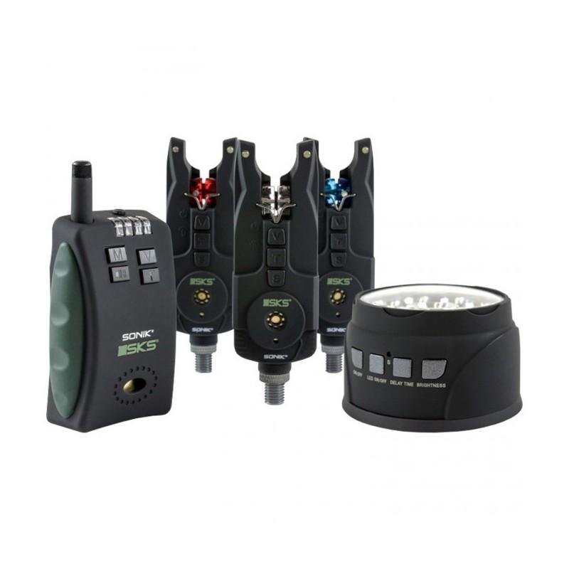 Sonik Set SKS 3 Alarmas+Receptor+Luz